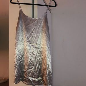 Urban outfitters metallic dress